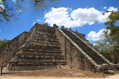 Chichen Itza. High Priest Temple Royalty Free Stock Images
