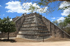 Chichen Itza. High Priest Temple Stock Image