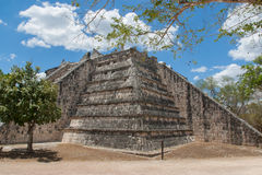 Chichen Itza. High Priest Temple Royalty Free Stock Photos