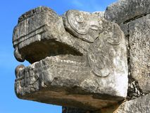 Chichen Itza jaguar Stock Image