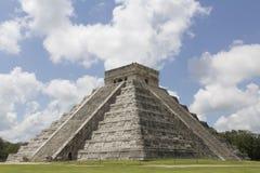 Chichen Itza, Kukuklan-Tempel Yucatan Mexiko Stockfotos