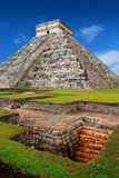 Chichen Itza Kukulcan Mayan Pyramid El Castillo Stock Photos
