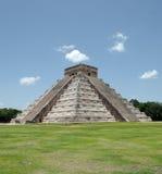 Chichen Itza Kukulkan Pyramid Stock Image
