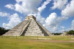 """Chichen Itza. The Kukulkan Pyramid in Chichen Itza which known as """"El Castillo"""" (the castle), Mexico Stock Images"""