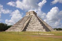 """Chichen Itza. The Kukulkan Pyramid in Chichen Itza which known as """"El Castillo"""" (the castle), Mexico Royalty Free Stock Photo"""
