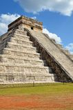 Chichen Itza Kukulkan temple Royalty Free Stock Photos