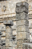Chichen Itza, a large pre-Columbian city built by the Maya civil Royalty Free Stock Photography
