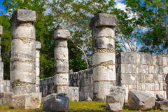 Chichen Itza, a large pre-Columbian city built by the Maya civil Royalty Free Stock Images