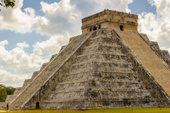 Chichen Itza, a large pre-Columbian city built by the Maya civil Royalty Free Stock Photos