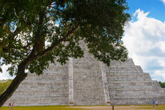 Chichen Itza, a large pre-Columbian city built by the Maya civil Stock Photo