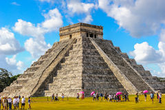 Chichen Itza, a large pre-Columbian city built by the Maya civil Stock Photos