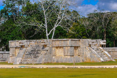 Chichen Itza, a large pre-Columbian city built by the Maya civil Royalty Free Stock Image