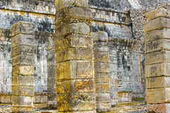 Chichen Itza, a large pre-Columbian city built by the Maya civil Stock Image