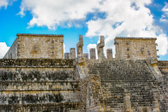 Chichen Itza, a large pre-Columbian city built by the Maya civil Stock Photography