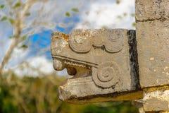 Chichen Itza, a large pre-Columbian city built by the Maya civil Stock Photo