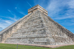 Chichen Itza Main Building. Mayan Historic Building. Traveling C Stock Photos