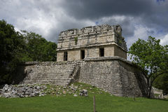 Chichen Itza - maison Colorada (Chambre rouge) Photos stock
