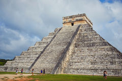 Chichen Itza. Majestic structures of XChen. The capital of Itza tribe Stock Photography