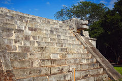 Chichen Itza. Majestic structures of XChen. The capital of Itza tribe Royalty Free Stock Image