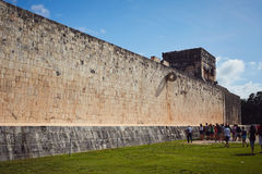 Chichen Itza. Majestic structures of XChen. The capital of Itza tribe Stock Images