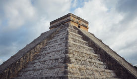 Chichen Itza. Majestic structures of XChen. The capital of Itza tribe Stock Image