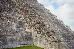 Chichen Itza. Majestic structures of XChen. The capital of Itza tribe Stock Photo