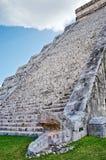 chichen itza majskiego Mexico ostrosłup Fotografia Stock