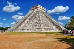 chichen itza majskiego Mexico ostrosłup Zdjęcie Royalty Free