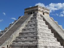 Chichen Itza - Maya royaltyfria foton