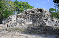 The chichen itza Maya Ruin Royalty Free Stock Images