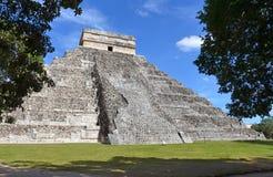 Chichen-itza. Maya ruins, Yucatan, Mexico Royalty Free Stock Images