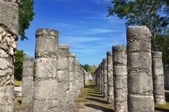 Chichen-itza. Maya ruins, Yucatan, Mexico Royalty Free Stock Image