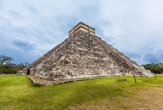 Chichen Itza, Mayan pyramid, Cancun, Mexico Royaltyfria Foton