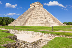 Chichen Itza, mayan pyramid in Mexico Stock Photography