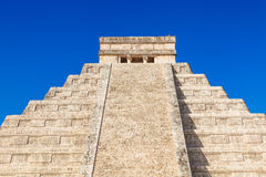 Chichen Itza, mayan pyramid in Mexico Stock Images