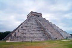Chichen Itza Mayan pyramid. In Yucatan Royalty Free Stock Image