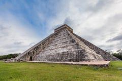 Chichen Itza, Mayan Pyramid, Yucatan, Mexico Royalty Free Stock Image