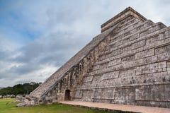 Chichen Itza, Mayan pyramid, Yucatan, Mexico Arkivbilder