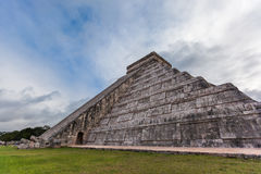 Chichen Itza, Mayan Pyramid, Yucatan, Mexico Royalty Free Stock Photos