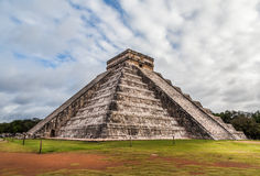 Chichen Itza, Mayan Pyramid in Yucatan, Mexico Royalty Free Stock Images