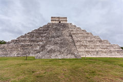 Chichen Itza, Mayan Pyramid, Yucatan, Mexico Royalty Free Stock Photo