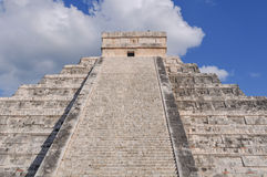 Chichen Itza Mayan Ruin Stock Image