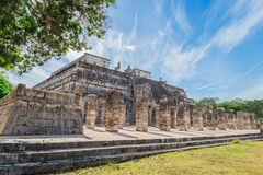 Chichen Itza. Mayan ruins, old city Yucatan, Mexico royalty free stock image