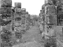 Chichen Itza Mayan Temple Stock Image