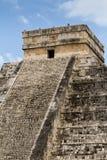 Chichen Itza Mayapyramide Lizenzfreie Stockfotografie