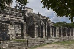 Chichen Itza, MEKSYK, turystyka, archeologia fotografia royalty free
