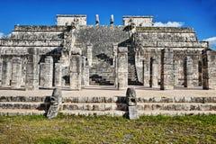 chichen itza Meksyku majskie ruin Obraz Royalty Free
