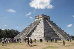Chichen Itza, Messico Fotografia Stock