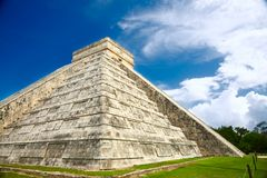Chichen Itza, Mexico. One of the New Seven Wonders of the World Stock Photography
