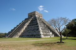 Chichen Itza in Mexico Royalty Free Stock Image